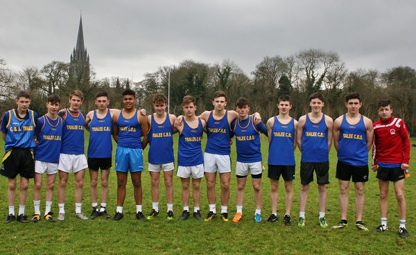 The CBS The Green team that took part in Kerry Schools Cross Country Championships.