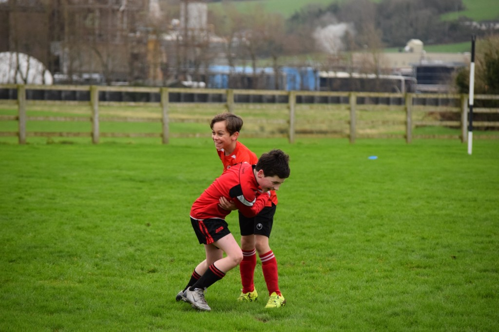 Action from Park Fc v Listowel U11's Saturday 09th January (2)
