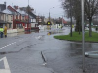 Storm Causes Flooding Again On Roads Around Town