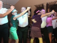 Participants in full swing in the Castlegregory Golf Club Strictly Come Dancing event on Friday night at the Ballyroe Heights Hotel. Photo by Dermot Crean