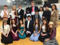 Mercy Mounthawk students that will take part in their production of Les Miserables.