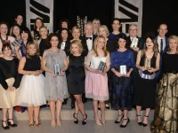 Photographed on stage at the Europe Hotel & Spa, Killarney on Friday 6th of March were the 2015 KFW Irish Fashion Industry Award winners in association with Image Magazine, Lancome Paris and Skoda, with judges and sponsors. Photo Credit: Pawel Nowak