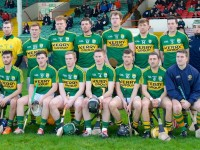 The Kerry team that lined out against Limerick in the Gaelic Grounds last week.