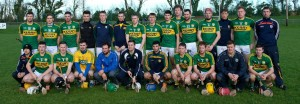 The Kerry team that lined out against Mallow against Cork last Sunday.