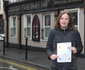 Annette O'Donnell, who is running this year's London marathon in aid of the PSP Association. Photo by Gavin O'Connor.