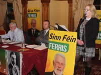 Ferris Attacks Government At Election Campaign Launch