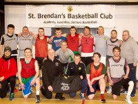 St Brendans Basketball Team. Photo from St Brendans Basketball Facebook.