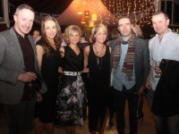 Tommy Griffin, Jilly O'Dwyer, Kate Dillon, Muireann Rooney, Donal Rooney and Brian Dillon at the 'Under The Stars At Ballyseedy' fundraiser at Ballyseedy Garden Centre on Saturday. Photo by Dermot Crean