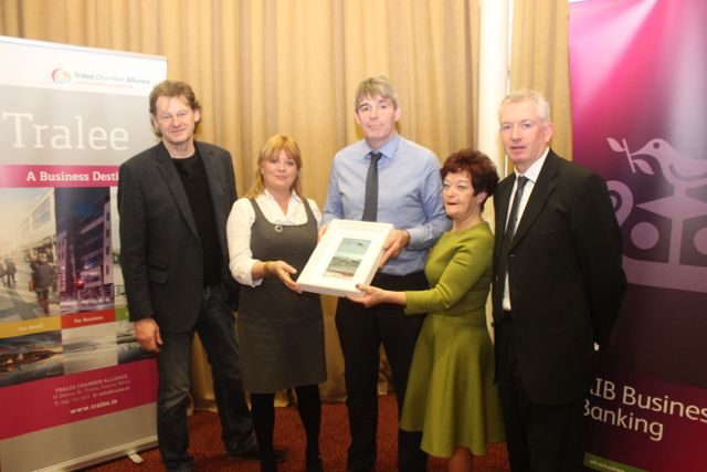 at the Tralee Chamber Alliance/AIB election breakfast in the Manor West Hotel. Photo by Dermot Crean