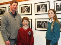 At the launch of 'Faces of Fenit' launch in the Kerry County Library were, from left: Liam, Billy and Jane Doyle. Photo by Gavin O'Connor.