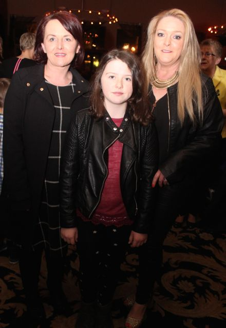 Amanda Reidy, Katie Allen Reidy and Geraldine Harris at the fashion show in aid of Killahan National School at the Ballyroe Heights Hotel on Friday night. Photo by Dermot Crean