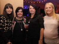 Jackie O'Connor, Teresa Doherty, Amy Falvey and Noreen Donnelly at the Mary Black concert in Ballyroe Heights Hotel on Friday night. Photo by Dermot Crean