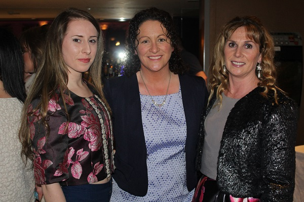 Kathrine O'Halloran, Phena Mulligan Ayesha Quane at Strictly Come Dancing in aid of Ardfert National School. Photo by Gavin O'Connor.