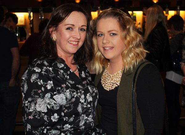 Patsy O'Hare and Irene Lynch at Strictly Come Dancing in aid of Ardfert National School. Photo by Gavin O'Connor.