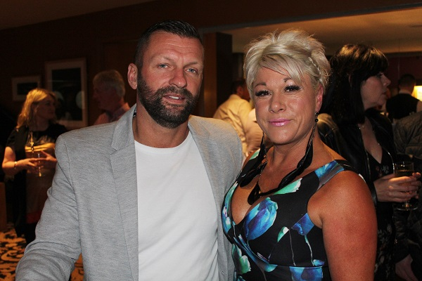 Pat and Joanna O'Driscoll at Strictly Come Dancing in aid of Ardfert National School. Photo by Gavin O'Connor.