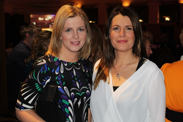 Jennifer Barry and Mary Ellen Clifford at Strictly Come Dancing in aid of Ardfert National School. Photo by Gavin O'Connor.