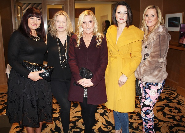 Mary Anne Stack, Grainne Stack, Katrina McCarthy, Margaret Kenny and Kathrine Stack at Strictly Come Dancing in aid of Ardfert National School. Photo by Gavin O'Connor.