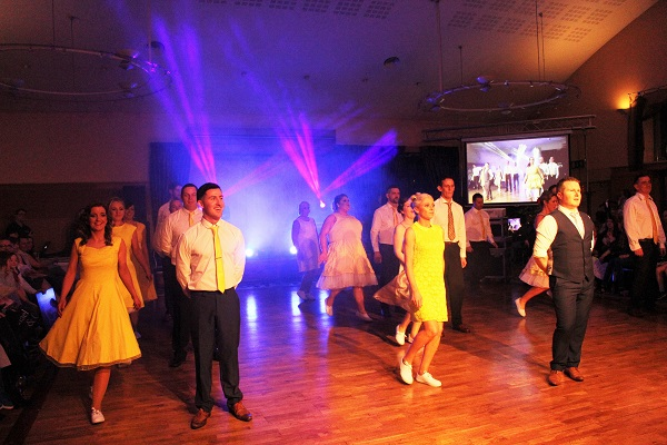 Contestants performing at Strictly Come Dancing in aid of Ardfert National School. Photo by Gavin O'Connor.
