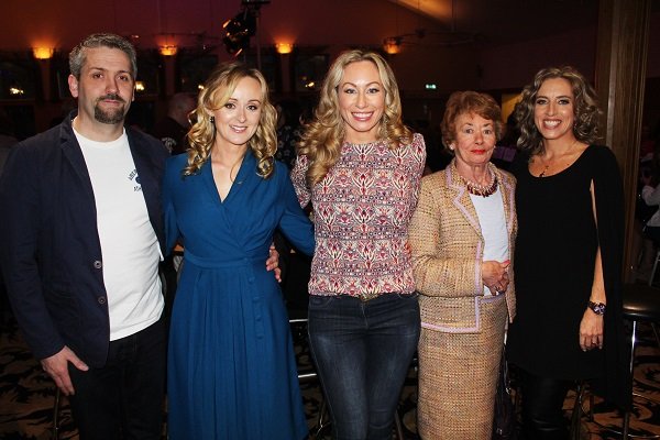 Paul Harris, Elaine Harris, Fiona Leahy, Judy Leahy and Ellen Leahy at Strictly Come Dancing in aid of Ardfert National School. Photo by Gavin O'Connor.