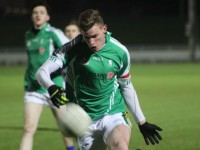 St Brendan's Kieran Hurley attempts to score. Photo by Dermot Crean