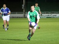 Andrew Barry launches an attack for St Brendans. Photo by Dermot Crean