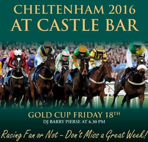 VIDEO: The Castle Goes Mad As Bryan Cooper Rides Gold Cup Winner