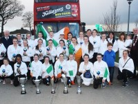 Team Ireland with the five trophies won at the World Dance Championships in Barcelona over the weekend. Photo by Gavin O'Connor.