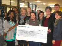 KCFE Students Make Healthy Donation To The Kerry Cancer Support Group