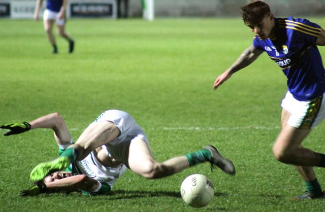 Michael Burns in action for Kerry. Photo by Dermot Crean