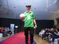 VIDEO: Michael Struts His Stuff On The Catwalk Ahead Of Heading Back To The Dáil