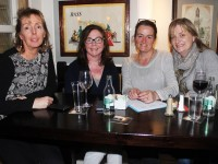 At the Mercy Mounthawk Parents Council Table Quiz were, from left: Mary O'Sullivan, Claire O'Connor, Jane Deasy and Margaret O'Brien. Photo by Gavin O'Connor.