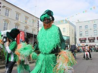 taking part in the St Patrick's Day parade. Photo by Dermot Crean