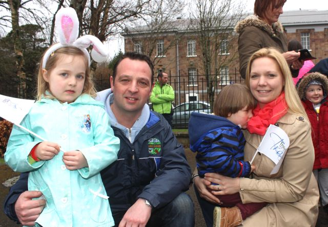 at the Tir Na nOg Fun Run in the Town Park on Saturday afternoon. Photo by Dermot Crean