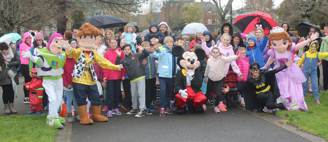 Participants at start of the Tir Na nOg Fun Run in the Town Park on Saturday afternoon. Photo by Dermot Creanat the Tir Na nOg Fun Run in the Town Park on Saturday afternoon. Photo by Dermot Crean