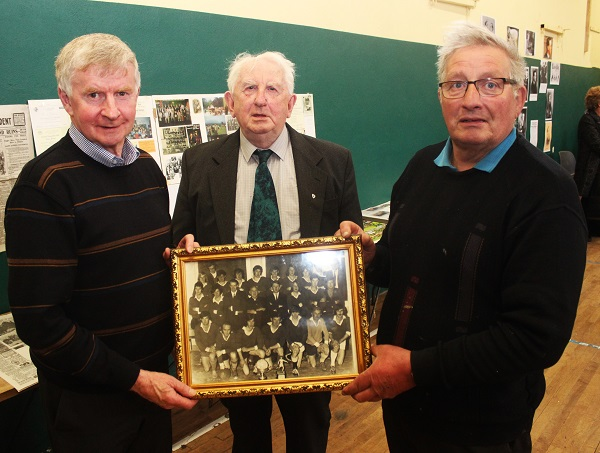 Donal Crowley, James Wrenn and Jim O'Sullivan were involved with the Churchill 1972 team that won one of their two Novice Championships. Photo by Gavin O'Connor.
