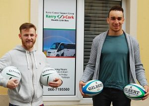 Barry John Keane and Ultan Dillane are showing their support for