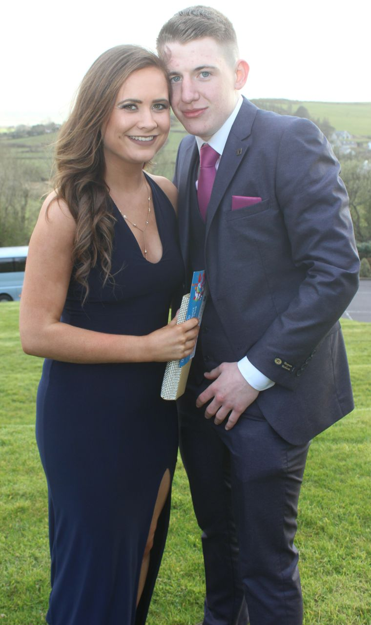Emer Madigan and Paul Hennessy at the ITT Sports Clubs And Socities Ball at the ITT Sports Clubs And Societies Ball at the Ballyroe Heights Hotel on Thursday night. Photo by Dermot Crean