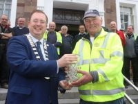 Popular Council Worker John Sweeps Into Retirement