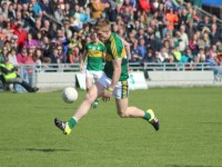 Tommy Walsh made an appearance late in the match. Photo by Dermot Crean