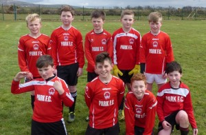 Park Fc U11s at the Blitz in Ballybunion