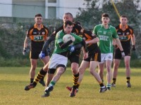 Kieran Donaghy in the tackle. Photo by Adrienne Mc Loughlin.