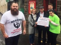Help 'Bearded Man' Reach His Target For Suicide Awareness Charities