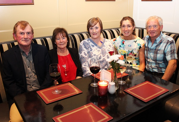 John and Maureen Foley, Fiona Kirby, Mary and Tim Walsh at the Summer Party at Kirby's Brogue Inn. Photo by Gavin O'Connor.