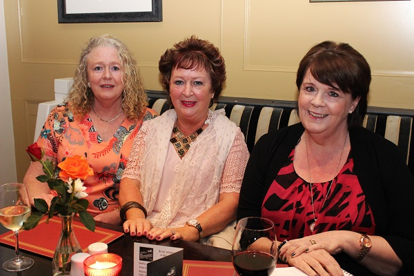 Peggy Gorham, Patricia O'Sullivan and Mary Varley at the Summer Party at Kirby's Brogue Inn. Photo by Gavin O'Connor.
