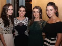 Triona Clifford, Katie Lynch, Martina Carey and Ellen Browne at the Brookfield College Graduation in Ballyroe Heights Hotel on Thursday night. Photo  by Dermot Crean