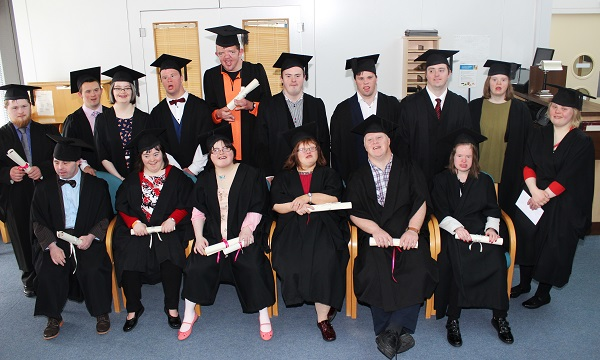 PHOTOS: Down Syndrome Ireland Students Graduate At IT ...