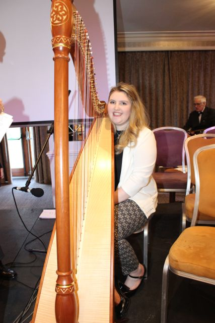 Shelley Ní Eidhin at the opening of Fleadh Cheoil Chiarraí at the Rose Hotel on Wednesday night. Photo by Dermot Crean