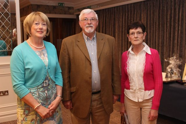 Eileen Daly, Sliabh Mish Comhaltas, John Canty, Causeway and Eileen O'Connor, Kilcummin at the opening of Fleadh Cheoil Chiarraí at the Rose Hotel on Wednesday night. Photo by Dermot Crean