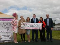 At the launch of the June Bank Holiday Race Meeting at Listowel Races were from left Shauna Lynch, Orlagh Winters (MC), Eilish Stack (Ladies Day Organiser), David Fitzmaurice (Chairman Listowel), Brenda Daly (Secretary Listowel) and John McGuire, Director, Listowel. The fashion highlight, Ladies Day on Sunday 5th of June, will be judged by TV celebrity and style icon Lorraine Keane and has a total prize fund valued at Û5,000, generously sponsored by the businesses and publicans of Listowel town. For more information on Listowel Races contact 068 21144 / 21172 or visit www.listowelraces.ie