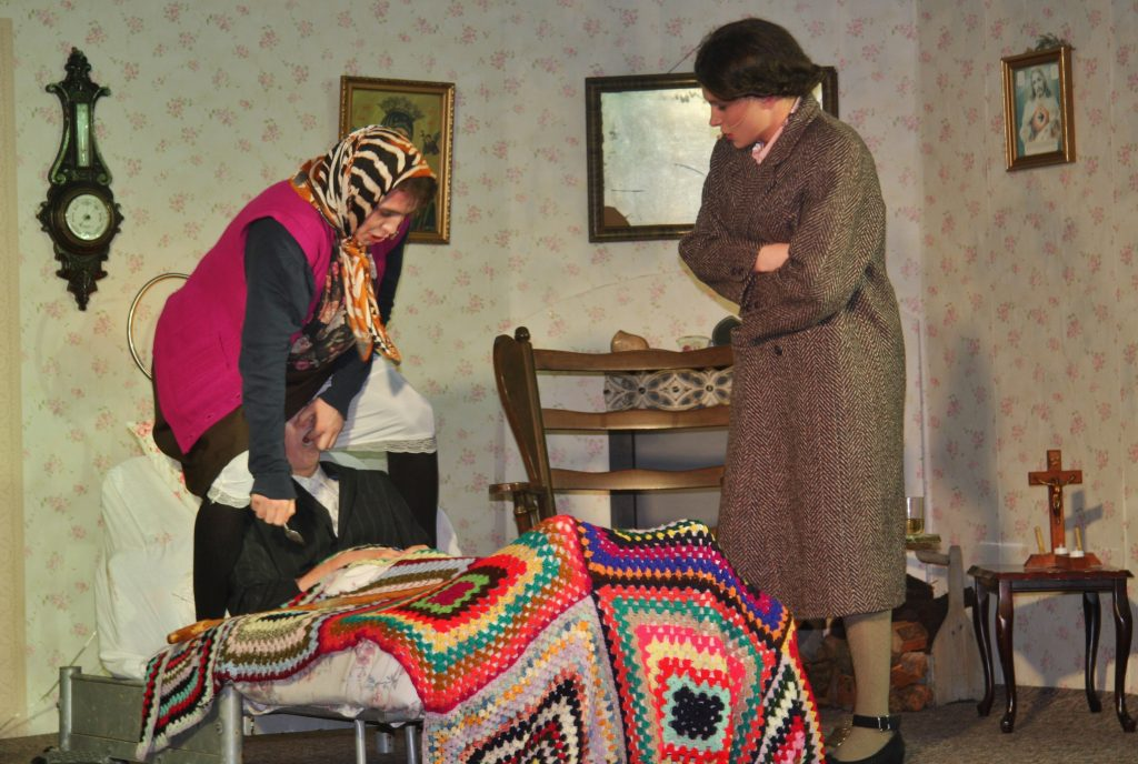 A scene from 'A Wake In The West'. Photo by Adrienne McLoughlin